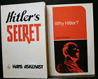 WHY HITLER SIMPSON  HITLERS SECRET ASKENASY SIGNED BY AUTHOR 1ST EDITION