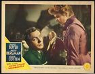 GASLIGHT 1944 LOBBY CARD CLASSIC CRIME MYSTERY COTTEN + BERGMAN BEST CARD KNIFE