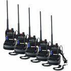5PCS YANTON T-UV2D Walkie Talkie 8W 2*128CH Scrambling FM radio Two way Radios