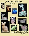 NEW!! 2015 Fenton Critters 7 e Book 6000 Animals Cat Bird Bunny Dog Mouse on CD