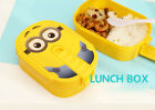 New Cute Cartoon Owl Lunch Box Food Container Storage Box Portable Bento Box