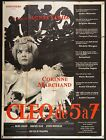 CLEO FROM 5 TO 7 1962 French 47x63 poster Agnes Varda filmartgallery DE A