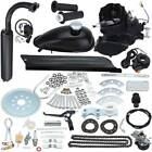 Black 50cc Gas 2 Stroke Bike Motor Kit Motorized Bicycle Engine kit