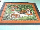 Cranston VIP Tigers In The Jungle Wall Hanging Quilting Fabric