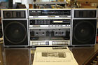 SANYO C40 Portable Mini Component System Boombox- USED