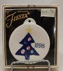 Fiestaware 1998 Blue Christmas Tree Ornament Fiesta 51595