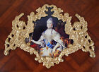 Russian queen Catherine The Great.Faux ormolu.Furniture mounts/decor.