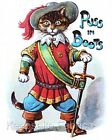 Puss In Boots Nursery Cotton Quilt Block Multi Szs FrEE ShiPPinG WoRld WiDE (P3