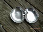 Vintage SSS Quadruple Silver plate Candy Dish / Serving Bowl / Tray Leaf Shaped