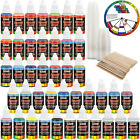 US Art Supply 36 Color 1oz Deluxe Airbrush Acrylic Paint Set