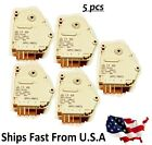 5x DEFROST TIMER 6 HRS. 21 MIN COMPACT AP1401 whirlpool Kenmore Roper Maytag
