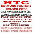 HTC PERMANENT NETWORK UNLOCK CODE FOR HTC Sprint Touch Pro HTC T Mobile G1