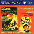 The Hunchback of Notre Dame-1939/Beau Geste-2 Original Movie Soundtrack's CD