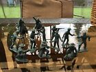Marx rin tin fort apache complete set cavalry toy soldiers playset vintage figs