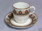 Antique 1881 BROWNFIELD & SONS Chocolate Cup & Saucer TYNDALE & MITCHELL #2535 a