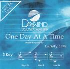 One Day At A Time Accompaniment CD By Christy Lane 2015 Daywind Soundtracks NEW