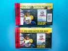 2 Seal 2013 PRESS PASS FOOTBALL 12 Pack Hobby Box! Four on-card AUTOS PER BOX!
