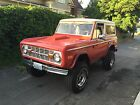 Ford  Bronco Sport 1970 ford bronco sport strong 302 v 8 manual many upgrades