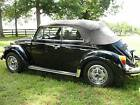 Volkswagen  Beetle Classic triple black epilogue Karmann 1979 triple black convertible all original