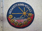 PATCH , US NAVY   USS KITTY HAWK , CVA-63 , VIETNAM WAR PATCH