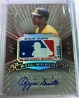 OZZIE SMITH 2005 UPPER DECK HALL OF FAME WORTHY AUTOGRAPH LOGO 1 1