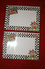 2 Pks of 10 Mary Engelbreit Imprintable Cards & Envelopes HOME SWEET HOME