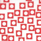 Sherbet Pips by Aneela Hoey from Moda 18506-22 Play Dots in White/Cherry 1 yard