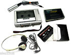 VERY RARE VINTAGE - PANASONIC RQ-346A STEREO CASSETTE PLAYER VOICE RECORDER SET