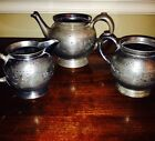 Rogers and Smith 1850 Meriden Tea Set