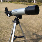 360 50mm Refractive Astronomical Telescope Tripod Monocula Space Scope Refractor