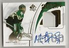 2009-10 SP Authentic Rookie Review Autographed Patches #RRMT Marty Turco 100