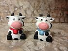 Cow Salt  Pepper Shaker farm country ranch holstein kitchen