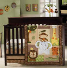 Kids Line - Jungle Walk - 4 Piece Bedding/Nursery/Crib Set - Baby Infant Toddler