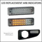 Qvee Led Replacement ARB Indicator 2x Bullbar ParkLight Universal Fit