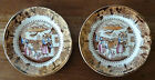 Pair of Chinoiserie-style Copper Luster Plates, Mid 1800s - 6