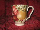 222 Fifth YULETIDE CELEBRATION POMEGRANITE & PINECONE MUGS - 4 - NEW