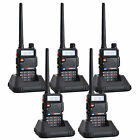 5PCS TONFA UV-985 Walkie Talkie 8W 128CH UHF+VHF DTMF Monitor TOT Two-Way Radio