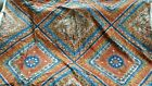 Luther Travis Material/Fabric 53x52 Bloomcraft Screen Print Ethnic Cotton Zepel