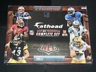 2012 Fatheads Football Complete Set 75 Card Luck Wilson Rookie Cards Numbered