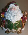 Fitz And Floyd Jolly Ole St. Nick Cookie Jar