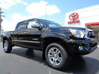 Toyota : Tacoma Double Cab Long Bed 4x4 Limited Nav Leather 4WD New 2015 Tacoma Double Cab 4x4 Long Bed Limited Navigation Heated Leather Black