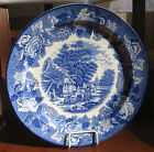 Plate ~ Blue and White ~ English Scenery ~ Enoch Woods ~ Woods Ware ~10