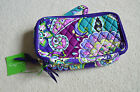 Vera Bradley Blush and Brush Makeup Case in Heather