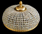 Antiq Empire style ceiling light lamp Manufactured with polished gold bronze 759