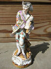 Antique Volkstedt (Late 19th Century) Figurine Gentleman with Bagpipe - Damaged
