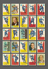Toronto Maple Leafs, Team Set Reprint, from Parkhurst 1959-60, 25 Mint cards