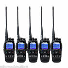 5x Digital WalkieTalkie Retevis RT2 VHF+UHF DTMF VOX GPS 2xAntennas 2-way Radio
