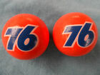 ANTENNA BALL SET UNION 76 GASOLINE VINTAGE NOS - NEVER BEEN MOUNTED CARS-TRUCKS