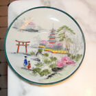 Darling Vintage Porcelain Hand Painted China Decorative Plate Dish made in Japan