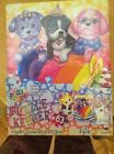 New Lisa Frank Puppy Love Puzzle Keeper 3 Puzzles & Stickers